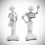 """Nao tiene un primo """"Zumosol"""".  Es """"Pepper"""", un robot humanoide que percibe y expresa emociones."""