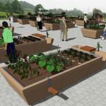 El jardín participa al tratamiento de las personas con Alzheimer